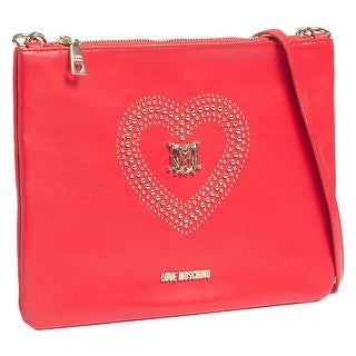 Moschino JC4210 0505 Red Pouch/Crossbody Bag