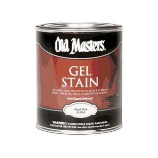 Old Masters 81904 Gel Stain, Aged Oak, 1 Quart