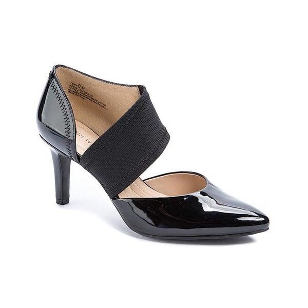 Andrew Geller TIBBY Women's Heels Black Patent