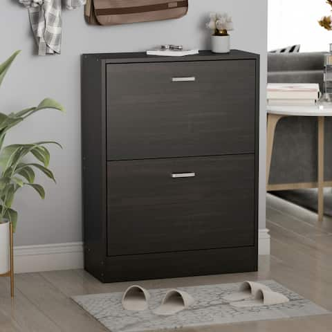 2-Tier Shoes Storage Cabinet