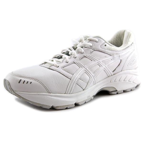diferencia Excretar escarabajo  Shop Asics Gel-Foundation Walker 3 Men Round Toe Leather White Walking Shoe  - Overstock - 13564558