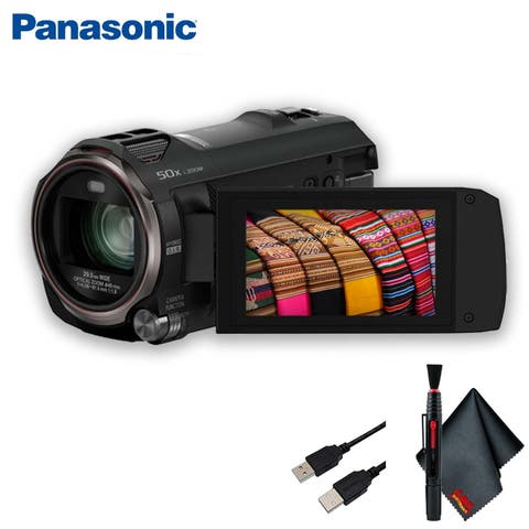 Panasonic Full HD Camcorder Accessory Kit - Includes - More