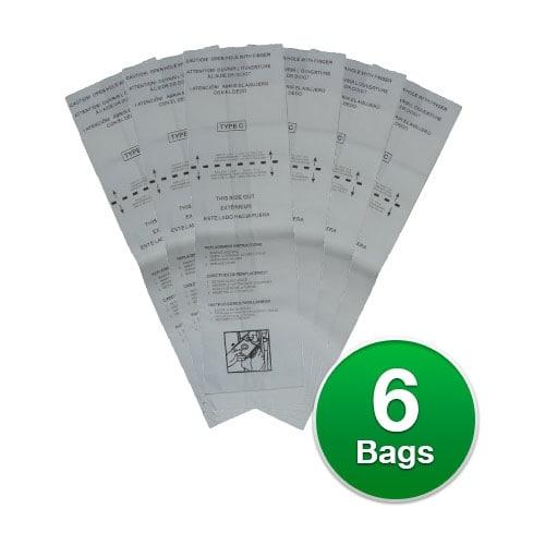 EnviroCare Replacement Bags for Dirt Devil Type C Vacuum Bags (2pk)