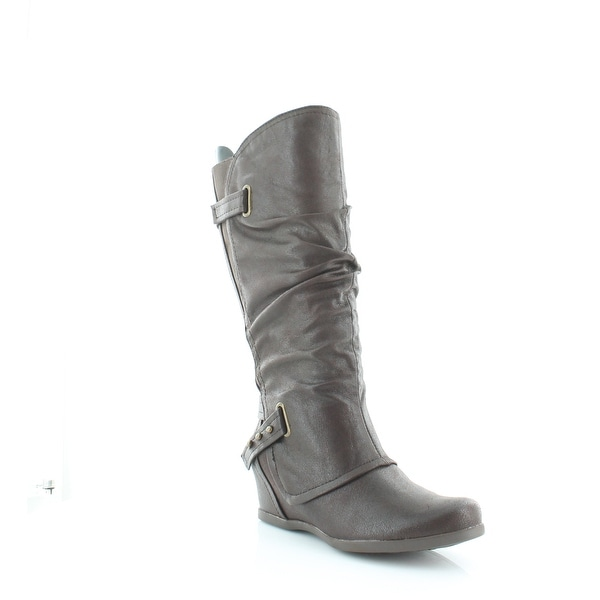 BareTraps Quivina Women's Boots Dk Brown