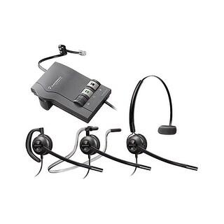 Plantronics EncorePro HW540 with M22 3-in-1 Mono Corded Headset