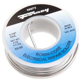 "Forney 38073 Solder, 60/40 Rosin Core, 1/16"", 1/4 lbs"