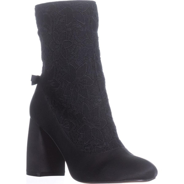 Nanette Lepore Linette High Tope Ankle Boots, Black - 7.5 us