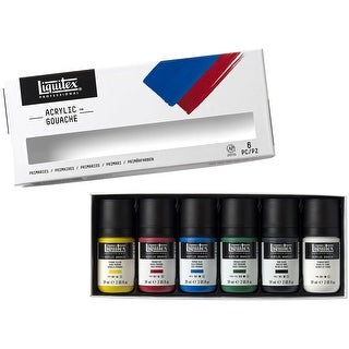 Liquitex Professional Acrylic Gouache Set 59Ml 6/Pkg-Primaries