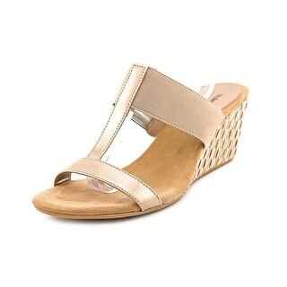 Style & Co Vern Women Open Toe Synthetic Tan Wedge Sandal