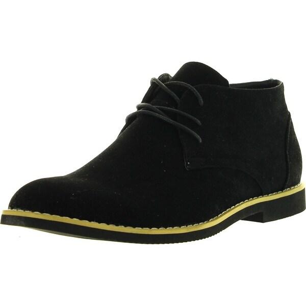 Alberto Fellini Mens Dakota 01 Chukka Desert Ankle Oxfords Boots Lace Up Shoes