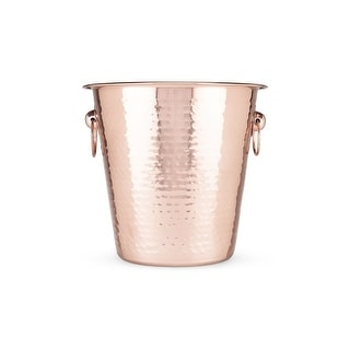 Monoprice Old Kentucky Home Hammered Copper Ice Bucket