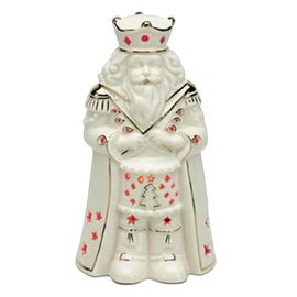 Mr. Christmas Illuminated Porcelain Nutcracker Figurine