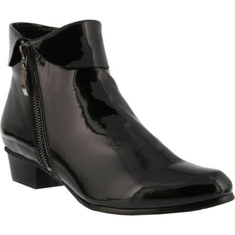 Spring Step Women's Stockholm Black Patent Leather