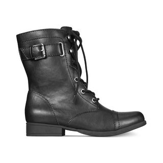 American Rag Womens Fionn Closed Toe Mid-Calf Combat Boots