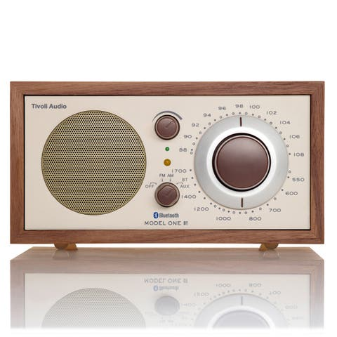 Tivoli Audio Model One Bluetooth AM/FM Radio (Walnut/Beige)
