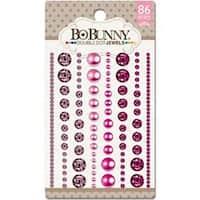 Think Pink - Double Dot Jewels 86/Pkg