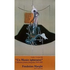 Le Boeuf, 1986 Exhibition Poster, Francis Bacon