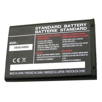 Replacement AB463446BA 800mAh Battery for Samsung A157 / GT-E1260B / SGH-A107 Phone Models