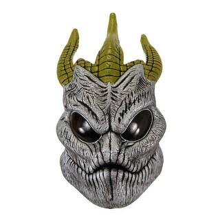 Doctor Who Silurian Adult Costume EVA Half Mask - gray