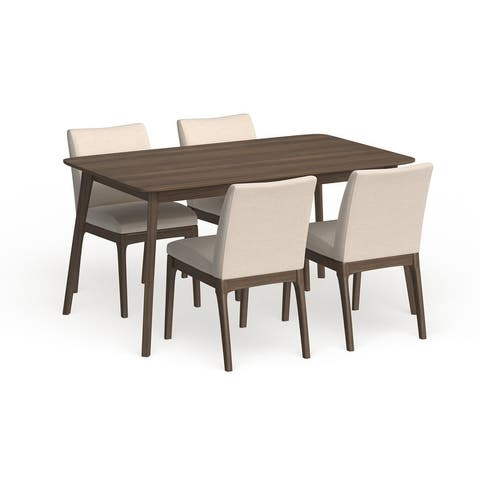 Fabrizio Mid-Century Modern 5 Piece Dining Set by Christopher Knight Home