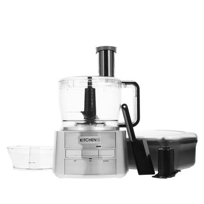 Kitchen HQ 12- & 5-Cup Bowl Induction Motor Food Processor Model 661-712