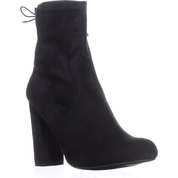 I35 Mali Fashion Ankle Boots, Black - 9 us