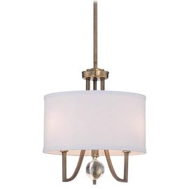 Minka Lavery 4423-569 3 Light Full Sized Pendant from the Malibu Gold Collection