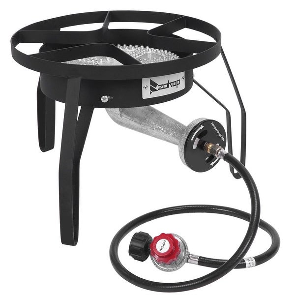 Outdoor Furnace Cooking Stove 200,000 BTU Output High Pressure Gas Cooker. Opens flyout.
