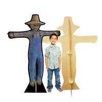 Advanced Graphics 2387 66 x 45 in. Scarecrow Cardboard Standup