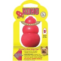 Kong Small Red Kong Dog Toy