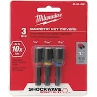 "Milwaukee Accessory 3Pc 1-7/8"" Nutdriver Set 49-66-4561 Unit: EACH"