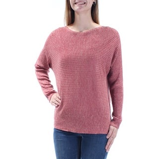 EILEEN FISHER $198 Womens New 1677 Red Textured Dolman Sleeve Top S B+B