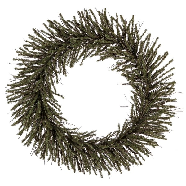 "36"" Vienna Twig Wreath 500Tips"