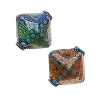 Mirage Color Changing Mood Beads - Sapphire Diamond 15mm (2)