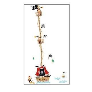 Unique Bargains Kid Height Chart Measure Design Removable Wall Decor Sticker Wallpaper Decal
