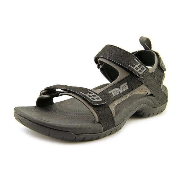 Teva Minam Men Open-Toe Synthetic Black Sport Sandal