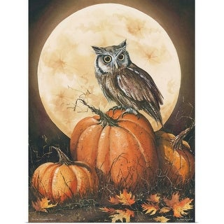 """""""In the Pumpkin Patch"""" Poster Print"""