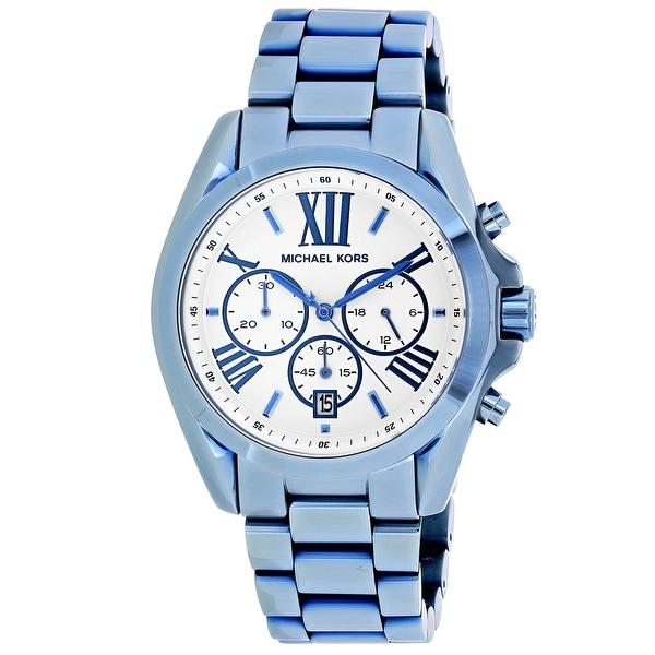 d38e1c39077c Shop Michael Kors Women s Bradshaw Watch - MK6488 - Free Shipping Today -  Overstock - 27107765