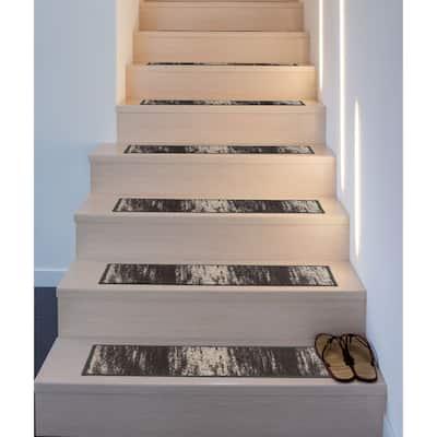 Contemporary Ombre Non-Slip Stair Treads
