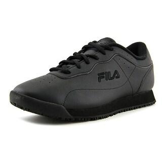 Fila Memory Viable Sr Women  Round Toe Synthetic Black Sneakers