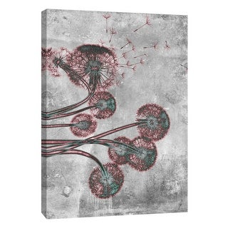 "PTM Images 9-105787  PTM Canvas Collection 10"" x 8"" - ""Flower Inversions 9"" Giclee Dandelions Art Print on Canvas"