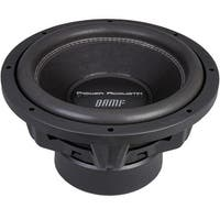 "Power Acoustik Bamf-122 Bamf Series Dual 2Ohm Subwoofer (12""; 3,500 Watt)"