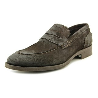 Ciro Lendini George Men Round Toe Suede Brown Loafer