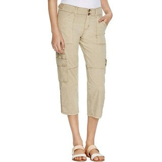 Sanctuary Womens Cargo Pants Crop Pockets