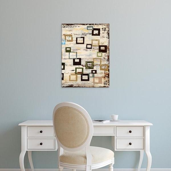 Easy Art Prints Natalie Avondet's 'Square RD II' Premium Canvas Art