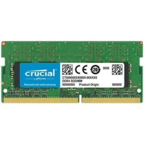 Crucial Memory CT16G4SFD8266 16GB DDR4 2666MT/s CL19 DR x8 Unbuffered SODIMM Retail