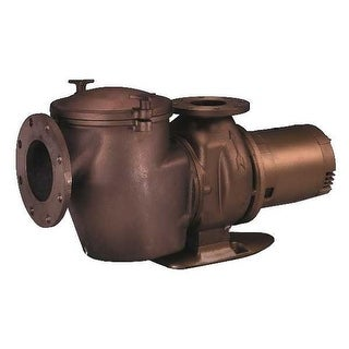 Pentair 011657 5HP Three Phase 220V 440V Bronze Commerical Pool Pump
