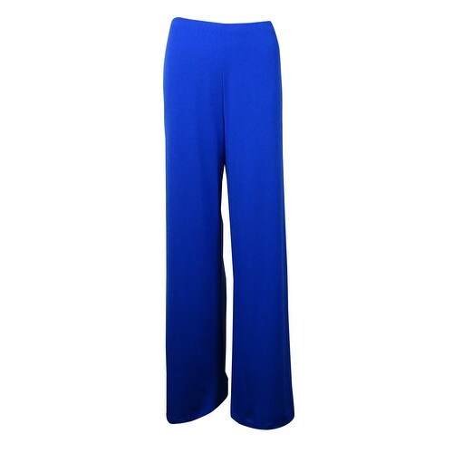 Alfani Women's Solid Wide-Leg Jersey Pants