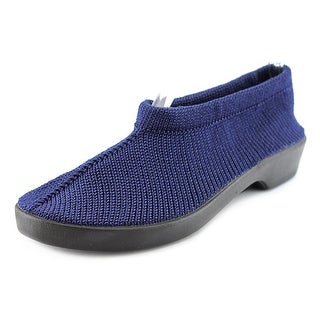 Spring Step Tender Women Round Toe Canvas Blue Loafer