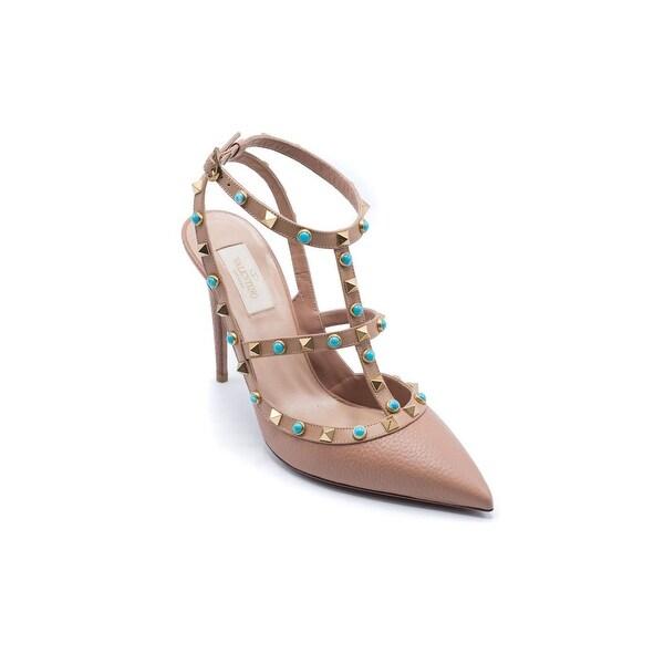 e2fda07b623c Shop Valentino Womens Nude Rockstud Pumps Heels Size 40 10 - Free ...
